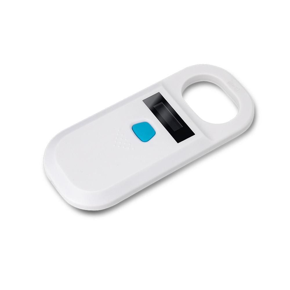 المحمولة OLED عرض RFID ISO11784/11785 134.2Khz/125khz FDX-B رقاقة القارئ سكانر لل الكلب/القط