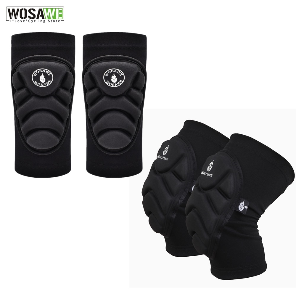 WOSAWE 4Pcs EVA Extreme Sports Elbow And Knee Pads MTB Bike Motorcycle Protection Basketball knee guards Support Gear Protector wosawe motorcycle elbow knee protector knee protective gear cycling skating snowboarding motocoss knee elbow guards pads