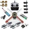 Drone quadrirotor RC 4 axes quadrirotor carte de Circuit imprimé moteur 1000KV 30A ESC Lipo F450 Kit de cadre 6ch TX Rx F02192-A