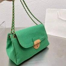 Luxury Designer Jeans Bags Denim Chain Crossbody Bags 2021 Handbags Shoulder Bags Messenger Casual D