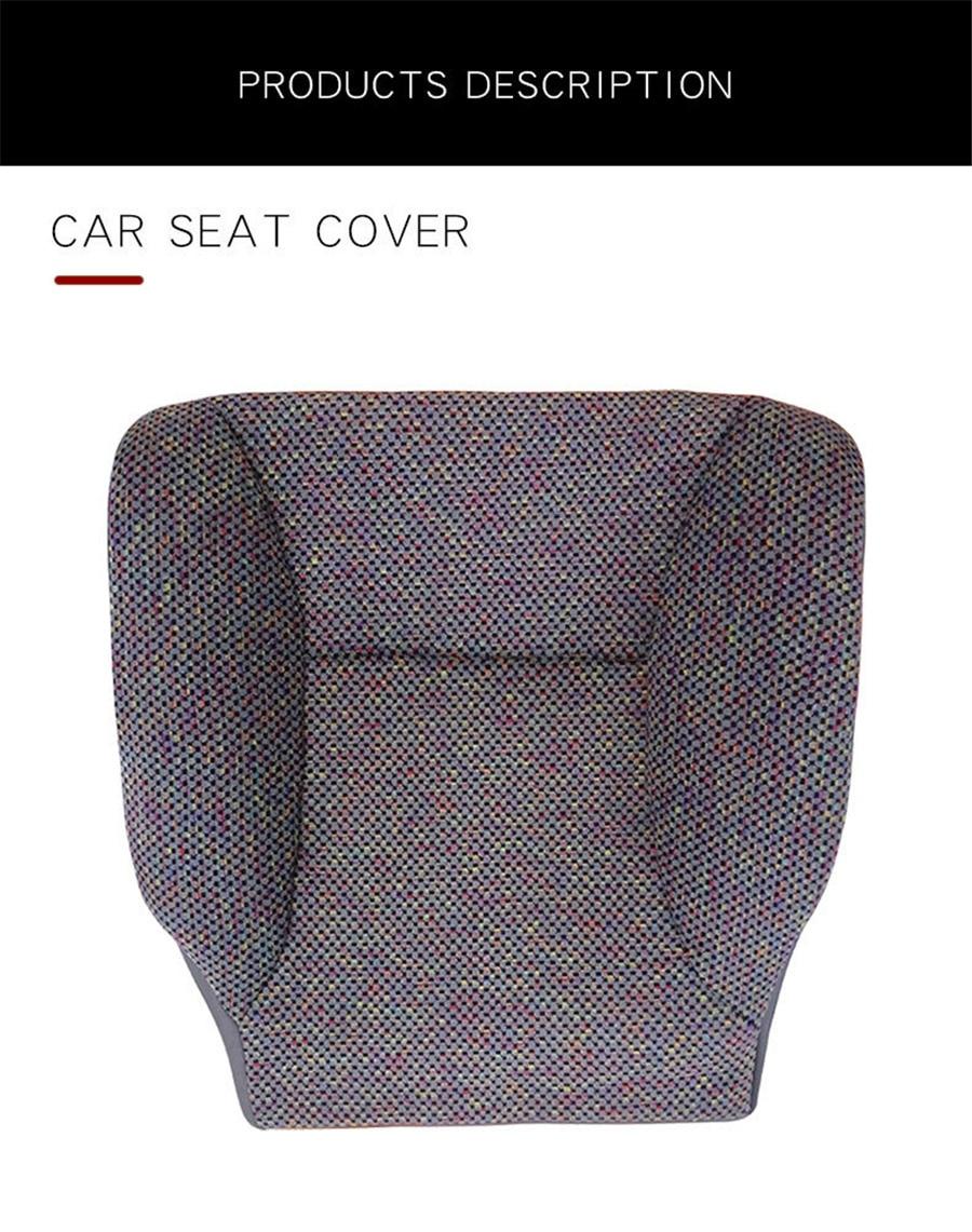 Front Driver Bottom Seat Cover Cloth For Dodge Ram 1500 2500 3500 SLT 1998-2002 enlarge