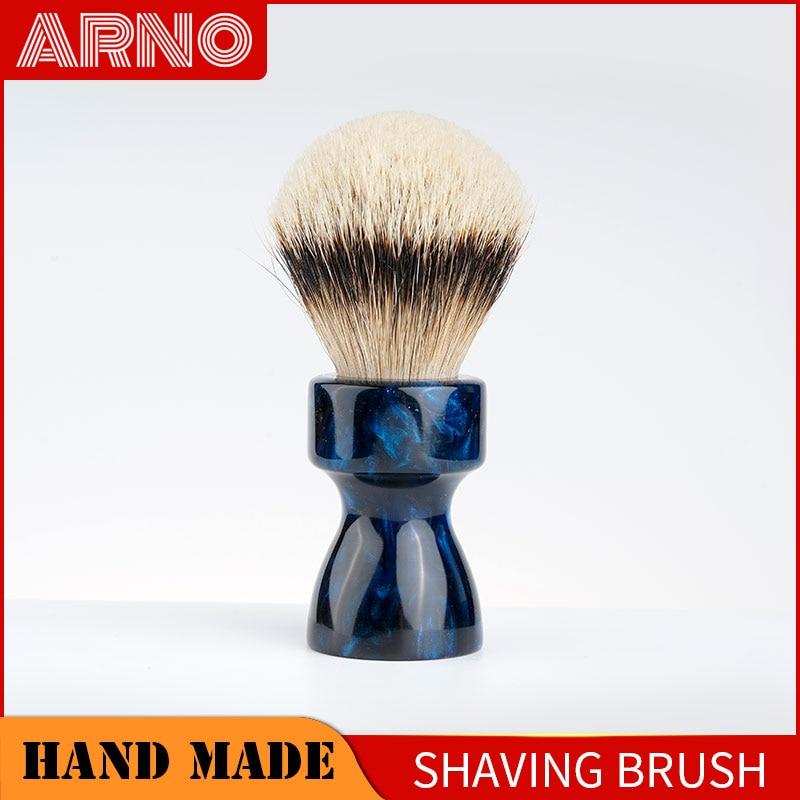 ARNOBRUSH-Shaving brush handle with badger knot-Camino(blue)