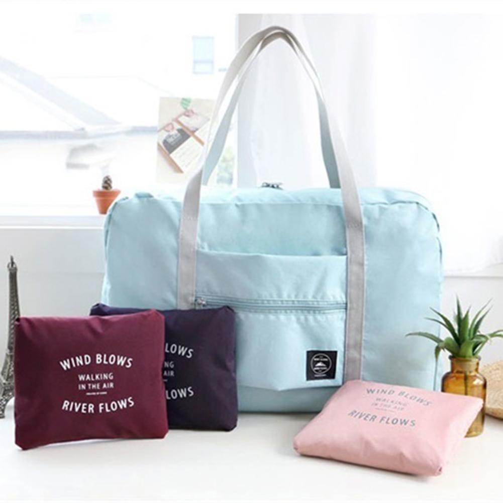 New Nylon Foldable Travel Bag 2021 Unisex Large Capacity Bag Luggage Women WaterProof Handbags Men T
