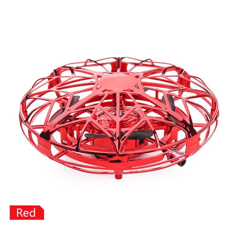 2021 NEW Mini Helicopter RC UFO Dron Aircraft Hand Sensing Infrared RC Quadcopter Electric Induction Toys for Children Drone enlarge