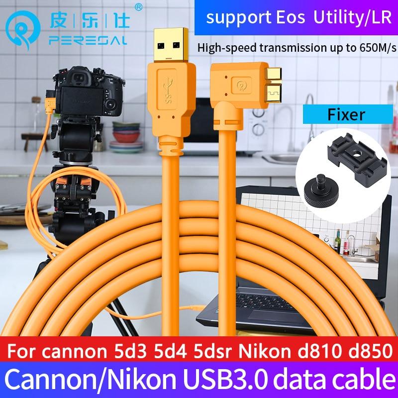 Cable USB 3,0 a micro-b PERESAL, cable de datos para cámara digital...