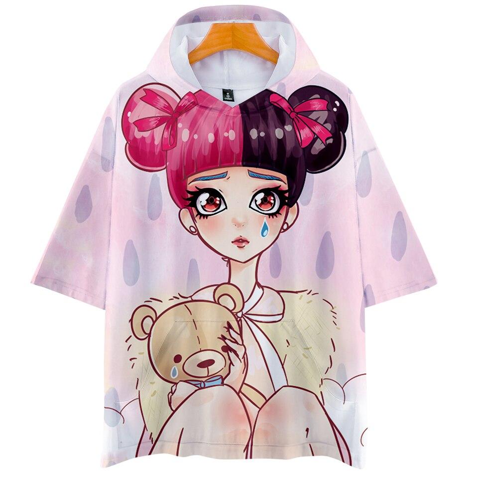 Sudadera con capucha para hombre cry baby, Sudadera con capucha navideña informal de moda novedosa de verano para mujer, ropa de calle Harajuku