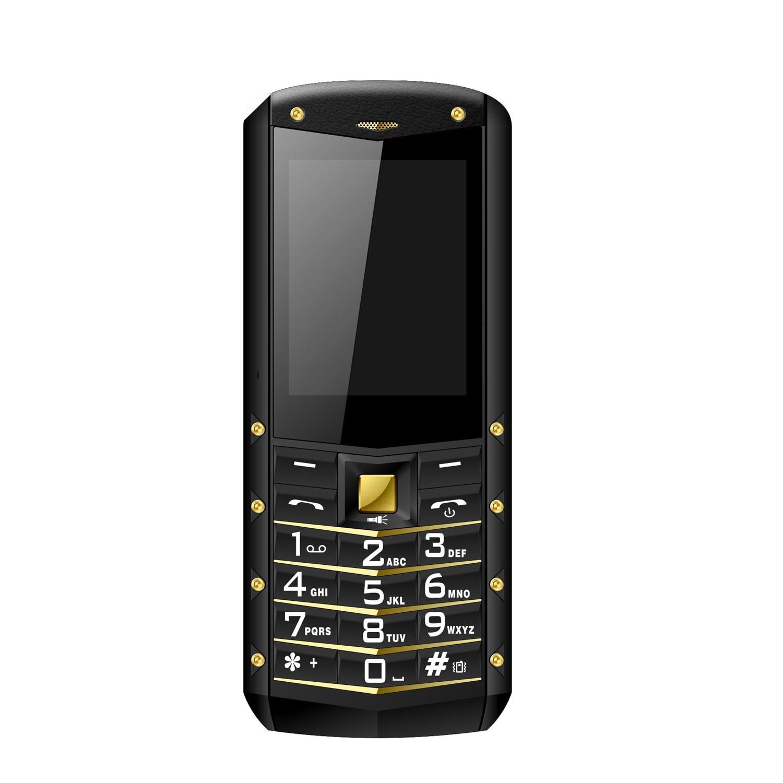"AGM M2 2.4 ""Rugged Phone Dual SIM Rear 0.3MP Outdoor Phone IP68 Waterproof Shockproof Flashlight 1970mAh Supports Russian"