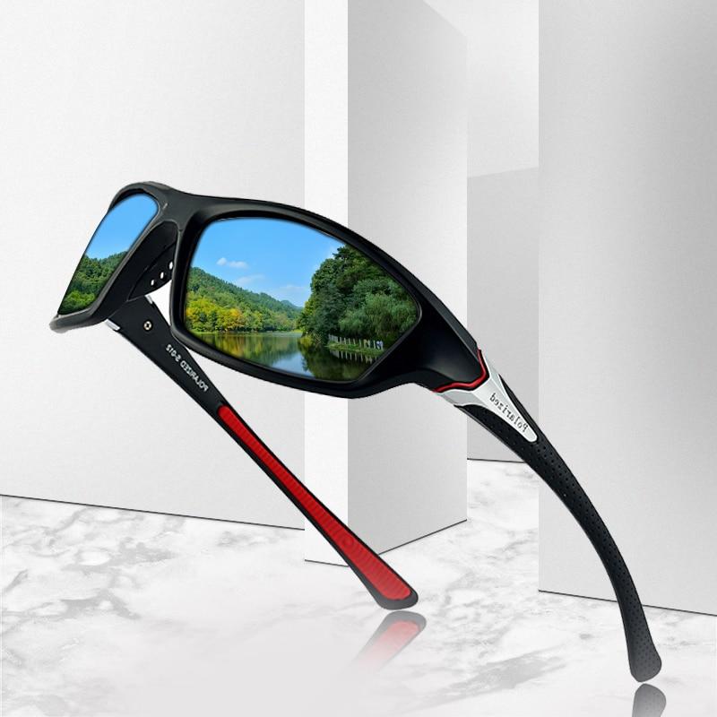 2019 Unisex 100% UV400 Polarised Driving Sun Glasses For Men Polarized Stylish Sunglasses Male Goggl
