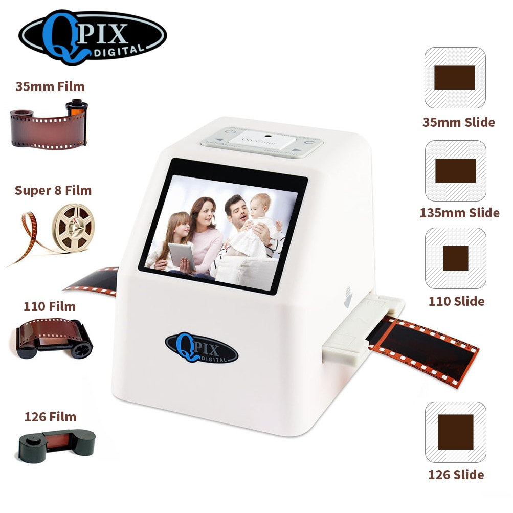Escáner de películas de 35mm, convertidor para películas con pantalla LCD de...