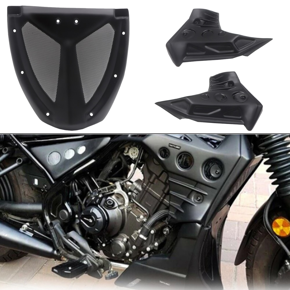 غطاء انسيابي لدراجة نارية تحت CMX300 CMX500 واقي للبطن غطاء حماية لوحة المحرك لهوندا المتمردين CMX 300 500 2017-2020