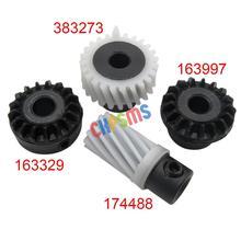 #383273+174488+163997+163329 4PCS Hook Drive Gear Set FIT For SINGER 700 SERIES 758,770,774,775,776,778,800