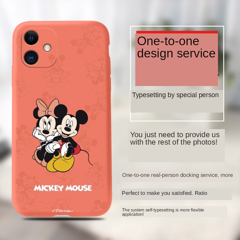 2021Disney for iPhone 6/6s/ 6Plus 7/8/ Plus X/XS/XR/XS Max/11 Pro / 11Pro Max 12/12 Pro /12promax/12min Mickey Minnie Phone Case  - buy with discount