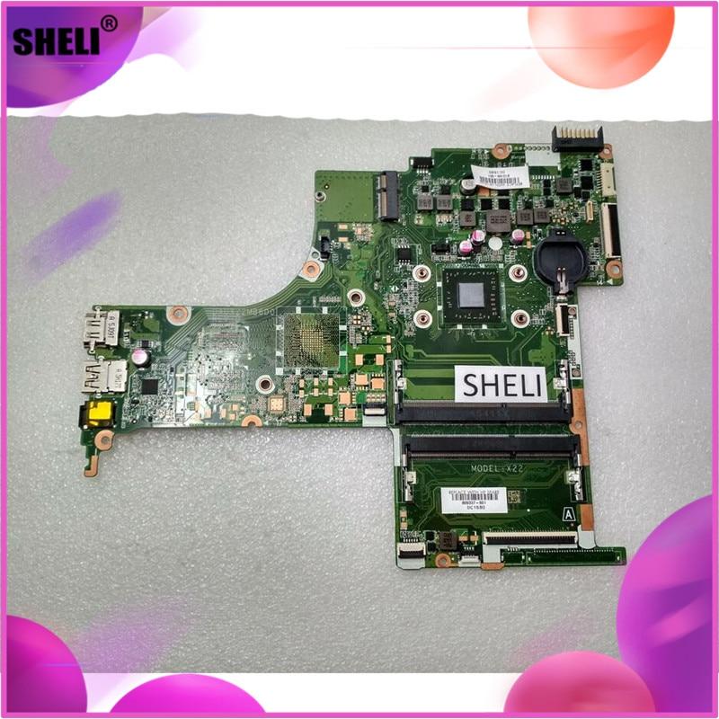 SHELI 809337-001 para placa base HP 15Z-AB, procesador wtih A8-7410, DA0X22MB6D0