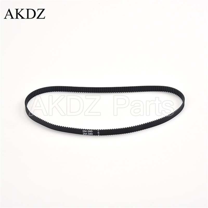 2mgt 2m 2gt synchronous timing belt pitch length 162 164 166 168 170 172 174 176 178 180 182 width 6mm rubber closed 2MGT 2M 2GT Synchronous Timing belt Pitch length 380 width 6mm/9mm Teeth 190 Rubber closed