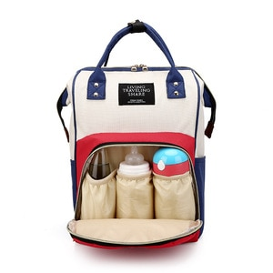 New Mummy Backpack Double shoulder maternity package fashion mother bag bottle bag diaper backpack women travel backpack