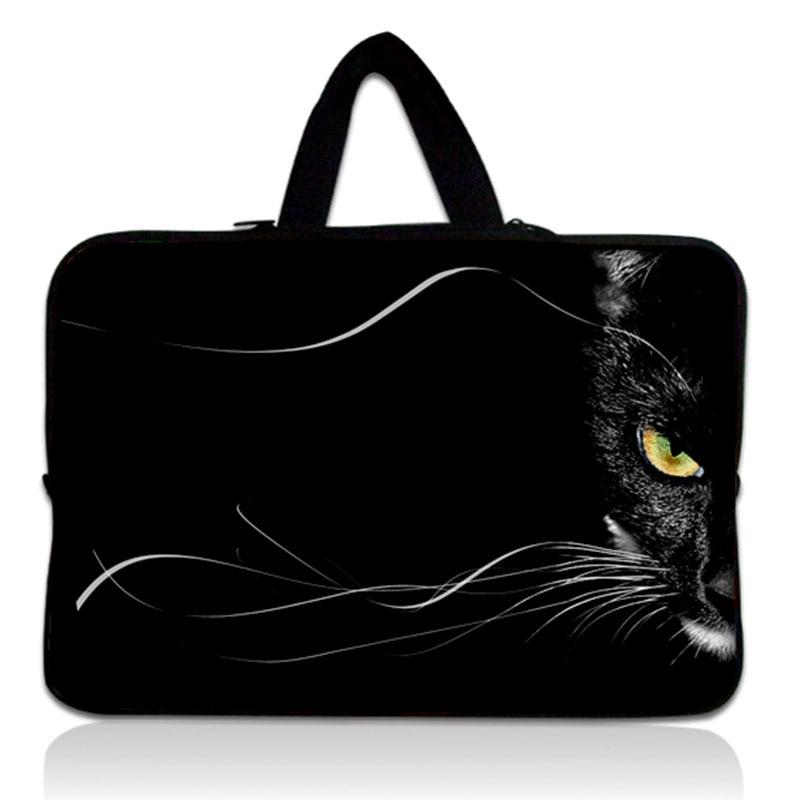 "Envío Gratis gato 14 ""Laptop Netbook manga bolsa funda para HP Pavilion, Sony, Dell XPS 14"