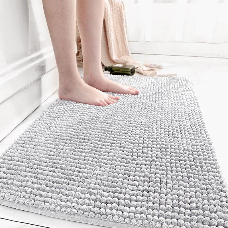 سجادة أرضية منزلية لغرفة النوم قابلة للغسل الحمام لينة منفوش البساط Nordica Hogar البساط حصيرة صغيرة Tapis Chambre المنسوجات المنزلية BF50RU
