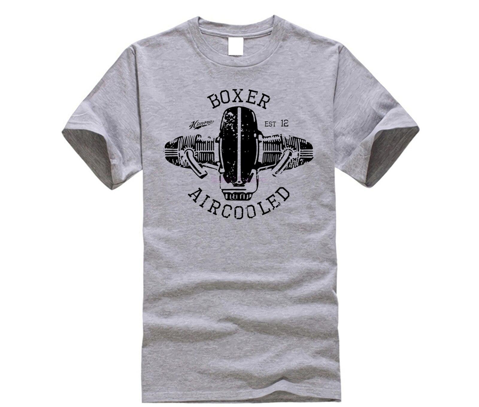 Gran oferta 2020 camiseta bóxer de algodón 100% con motor de motocicleta alemana R100 R80 R65 R nineT Nine T Scrambler camiseta