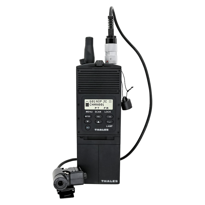 PRC 148 AN/PRC 148 Tactical Virtual Model Box Airsofters Military Walkie-talkie Model PRC148+U94 6 Pin Ptt for Comtac Headset