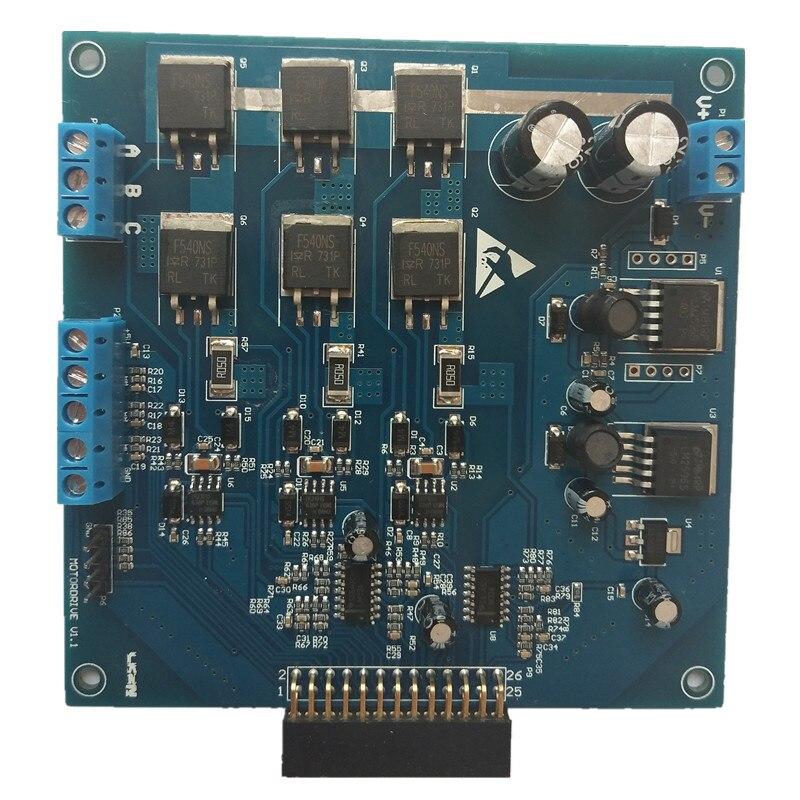 BLDC فرش موتور تيار مباشر محرك مجلس التنمية مجلس الجيبية ساحة موجة قاعة التشفير Sensorless بدء FOC