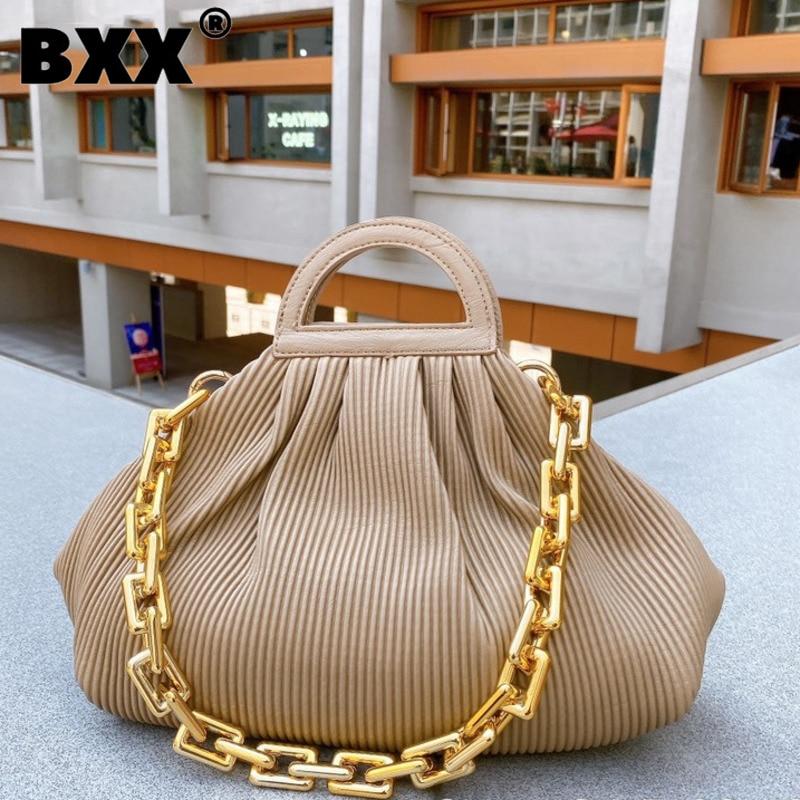 [BXX] حقائب كتف جلد بولي يوريثان عتيقة للنساء 2021 حقيبة يد عالية السعة حقائب يد للسيدات شتوية ذات علامة تجارية ومحافظ HP126