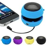 mini portable hamburger speaker amplifier for ipod ipad laptop iphone tablet pc