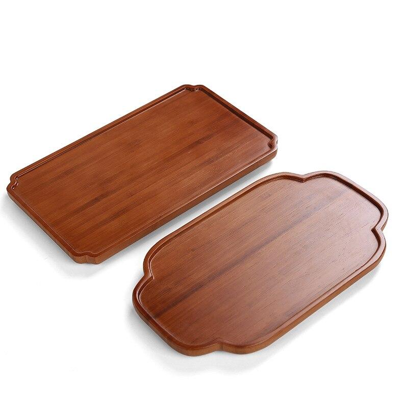 Nuevos bloques de corte de bambú tabla para cortar tabla para pan Tabla de Sushi bandeja de madera Real Tabla de Pizza cortar bloques