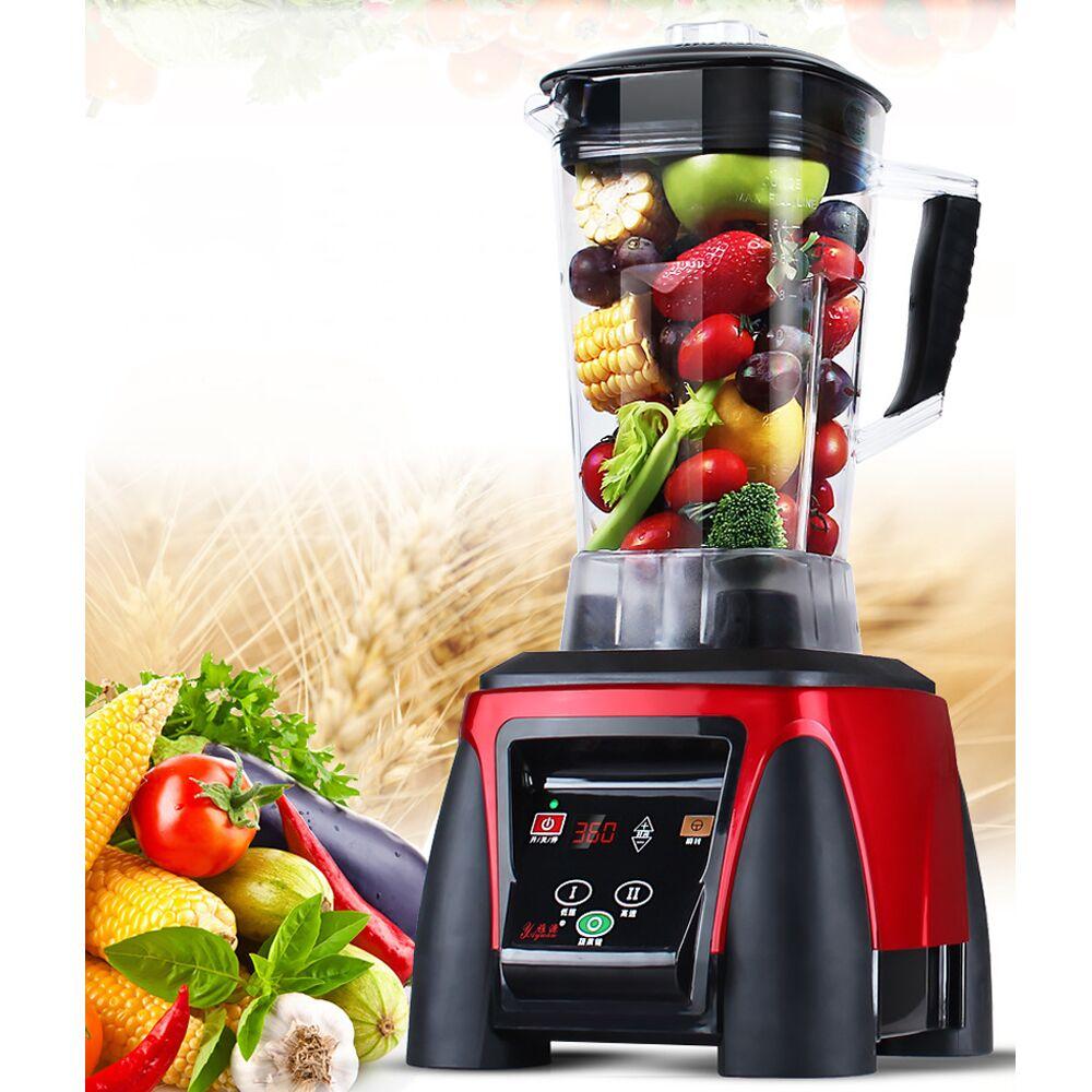 YD-1108 2200 w pesados misturador liquidificador comercial de alta potência cozinhar robô liquidificador gelo barra frutas 2l capacidade alimentos misturadores