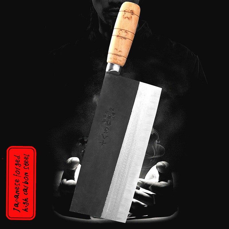 Dehk S210-2 المهنية سكين الطاهي 8.1 بوصة عالية الكربون مركب الصلب الأسماك الخام شفرة سكين شريحة سكين قتل سكين الأسماك