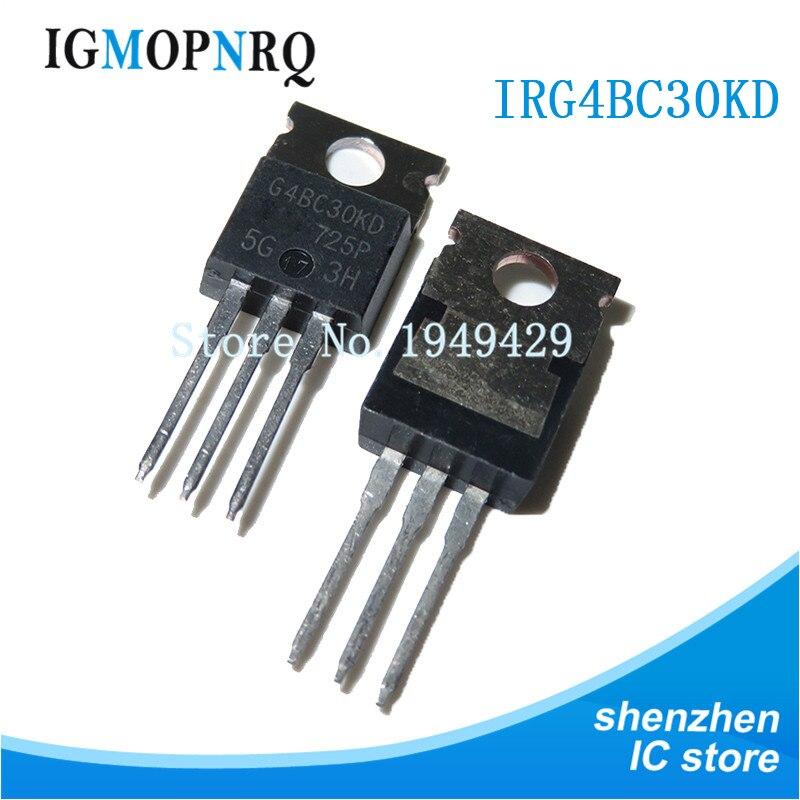 10PCS IRG4BC30KD-200 IRG4BC30 TO220 G4BC30KD 600V 16A nuevo original