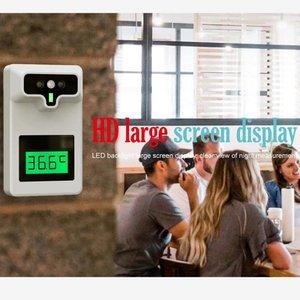 Новый оригинальный Бесконтактный автоматический интеллектуальный термометр, настенный инфракрасный термометр для быстрого измерения тем...