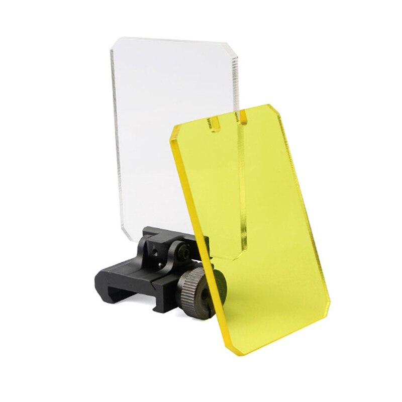 20mm objetivo de caza Airsoft Riflescopes lente Protector punto rojo Airsoft mira óptica transparente lentes a prueba de balas Protector