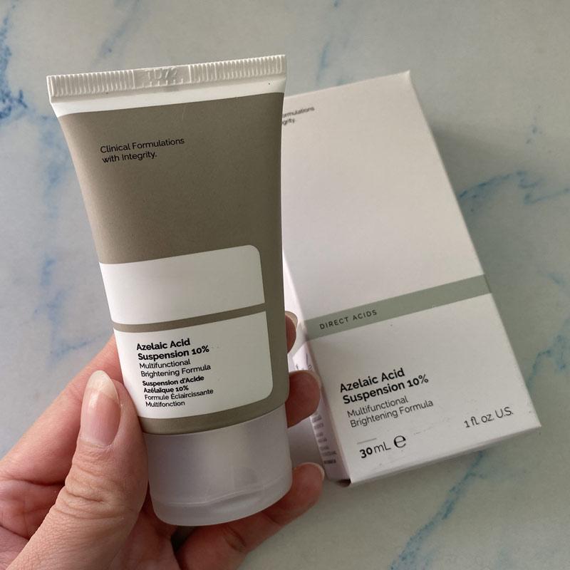 Azelaic Acid Suspension 10% Ordinary Anti-inflammatory Acne Facial Essence Multifunctional Brightening Formula Makeup Base 30ml