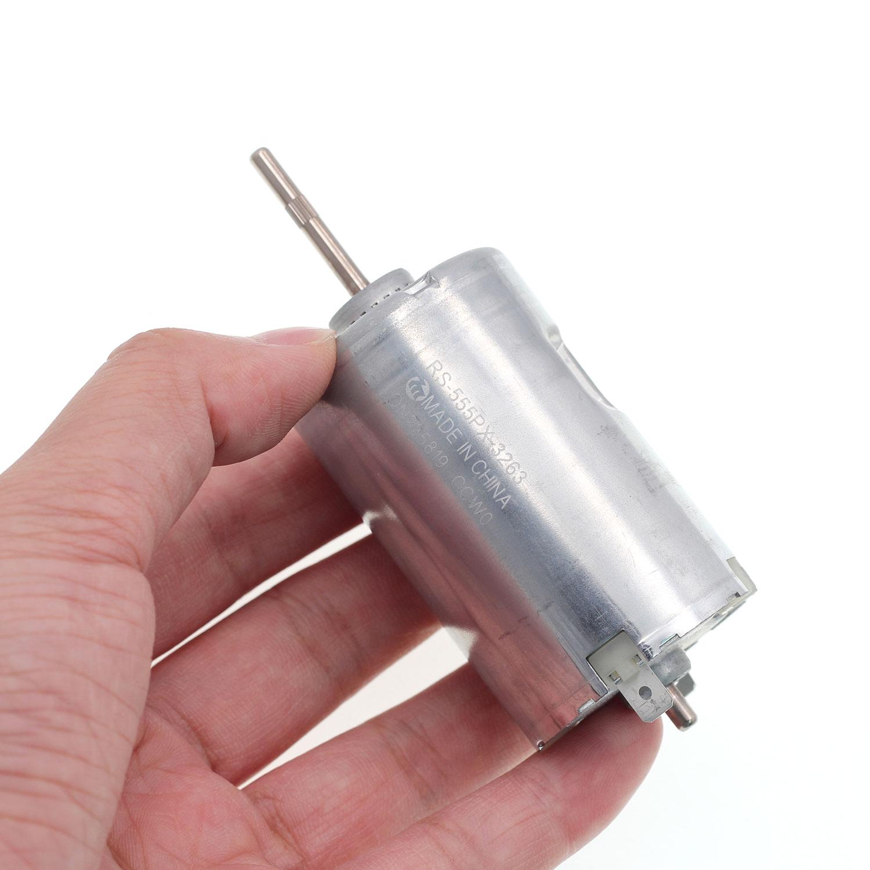 original for mabuchi RS555 DC motor Silent high torque Automotive Handmade DIY motor DC6V DC24V RS-5