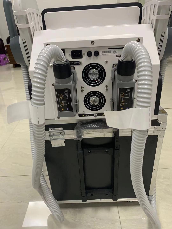 Купить с кэшбэком High Quality Portable 2 Handles EMS HIEMT Muscle Build HIEMT EMS Body Slimming EMS Muscle Machine
