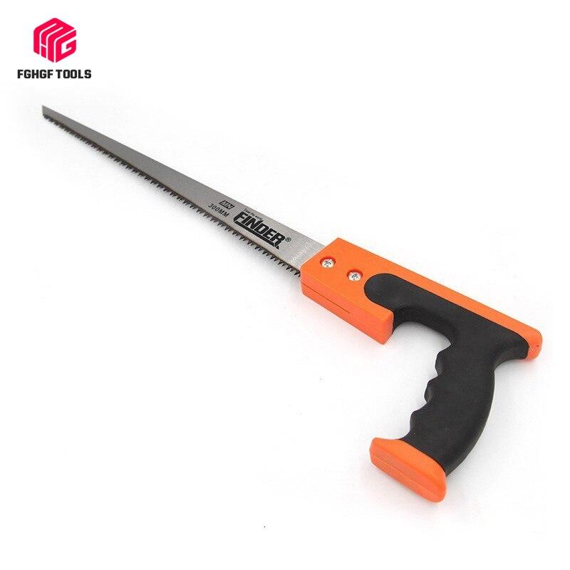 FGHGF, sierra manual de 12 pulgadas de aleación de manganeso, sierra manual pequeña para carpintería, herramienta para árboles frutales, rama de madera, corte de madera, supervivencia