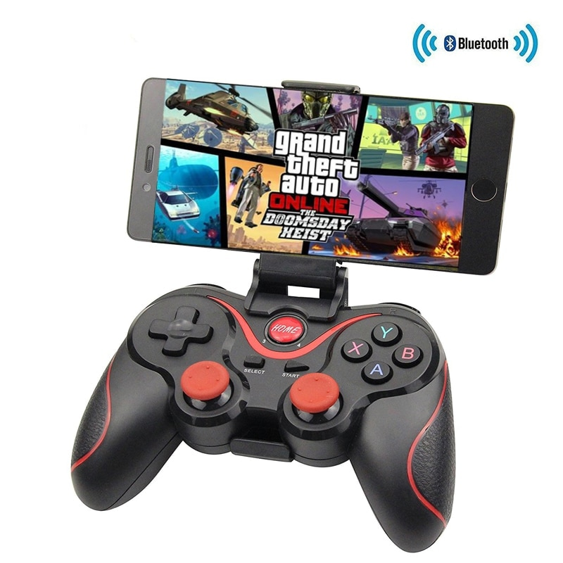 T3/X3 Game Controller For PS3 Joystick Wireless Bluetooth 3.0 Android Gamepad Gaming Remote Control For PC game Phone Tablet