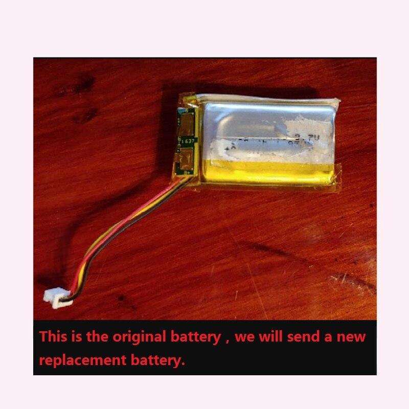Bateria para focal ouvir sem fio fones de ouvido novo li-polímero recarregável acumulador bloco de substituição 3.7 v código de trilha