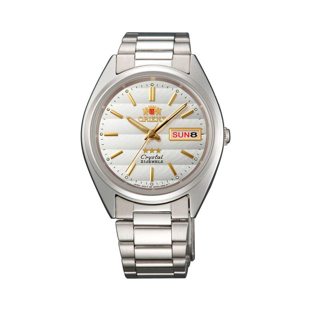 Наручные часы Orient AB00007W мужские механические с автоподзаводом на браслете