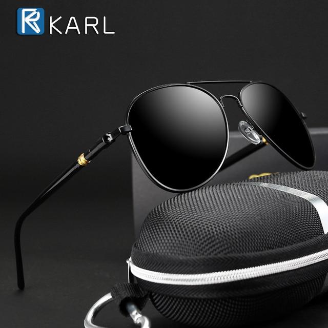 Classic Sunglasses Polarized Men Driving Glasses Black Pilot Sun Glasses Brand Designer Male Retro Sunglasses For Men/Women