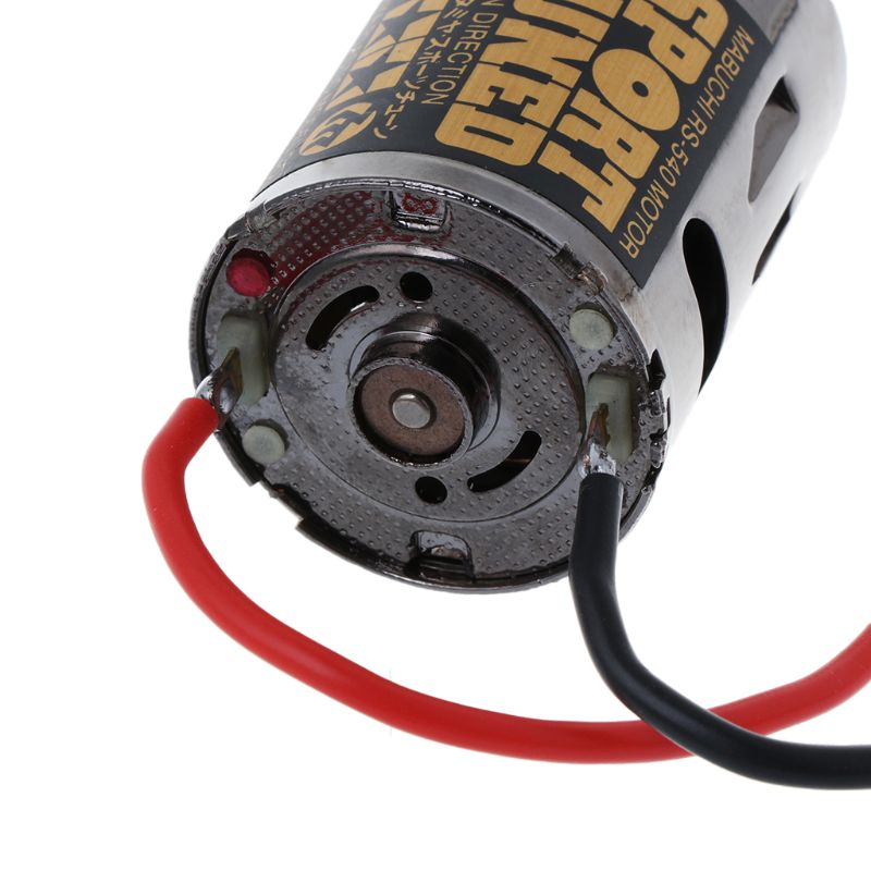 53068 OP68 RS540 Sport Tuned Motor 23T Brushed 540 Hop Up Options High Speed For 1/10 Scale Hobby Car Models Replacement R7RB enlarge