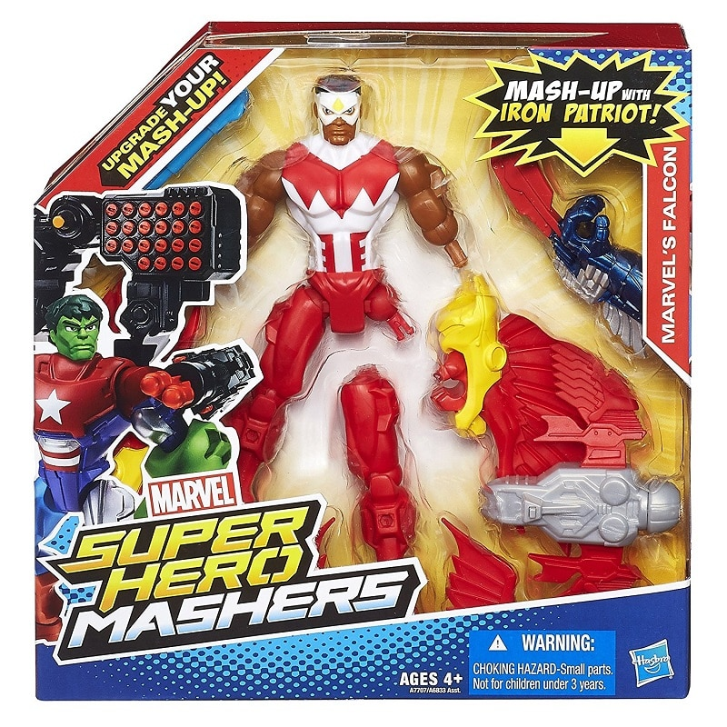 6 Inch Mashers Falcon Maken Uw Mash Up Actiefiguren Klassieke Speelgoed Voor Jongens Kinderen