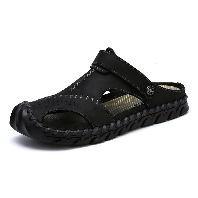 New Big Size 38-48 High Quality Men Sandals Summer Casual Beach Slippers Fashion Sneakers Breathable Outdoor Roman Beach Shoes
