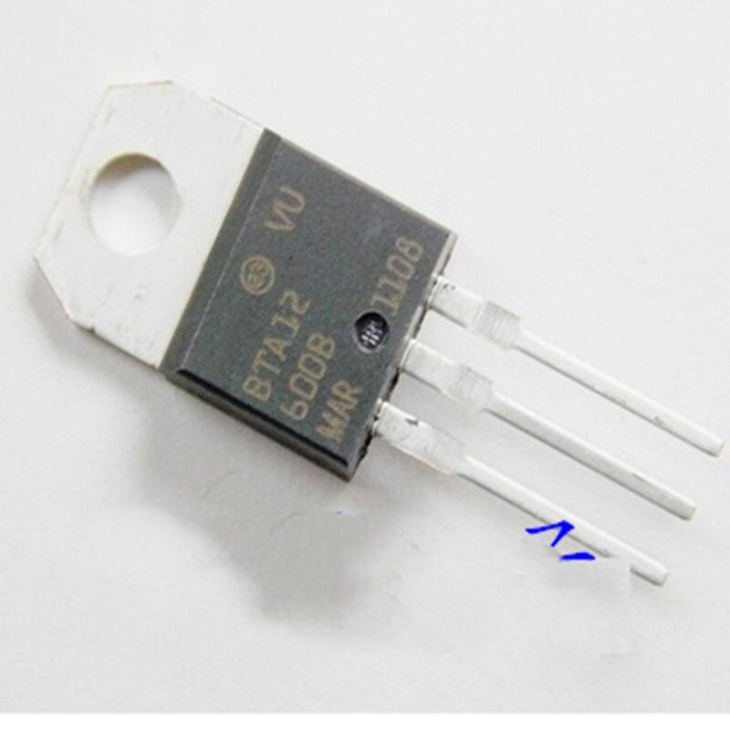 10PCS BTA12-600B PARA-220 BTA12-600 TO220 BTA12 novo