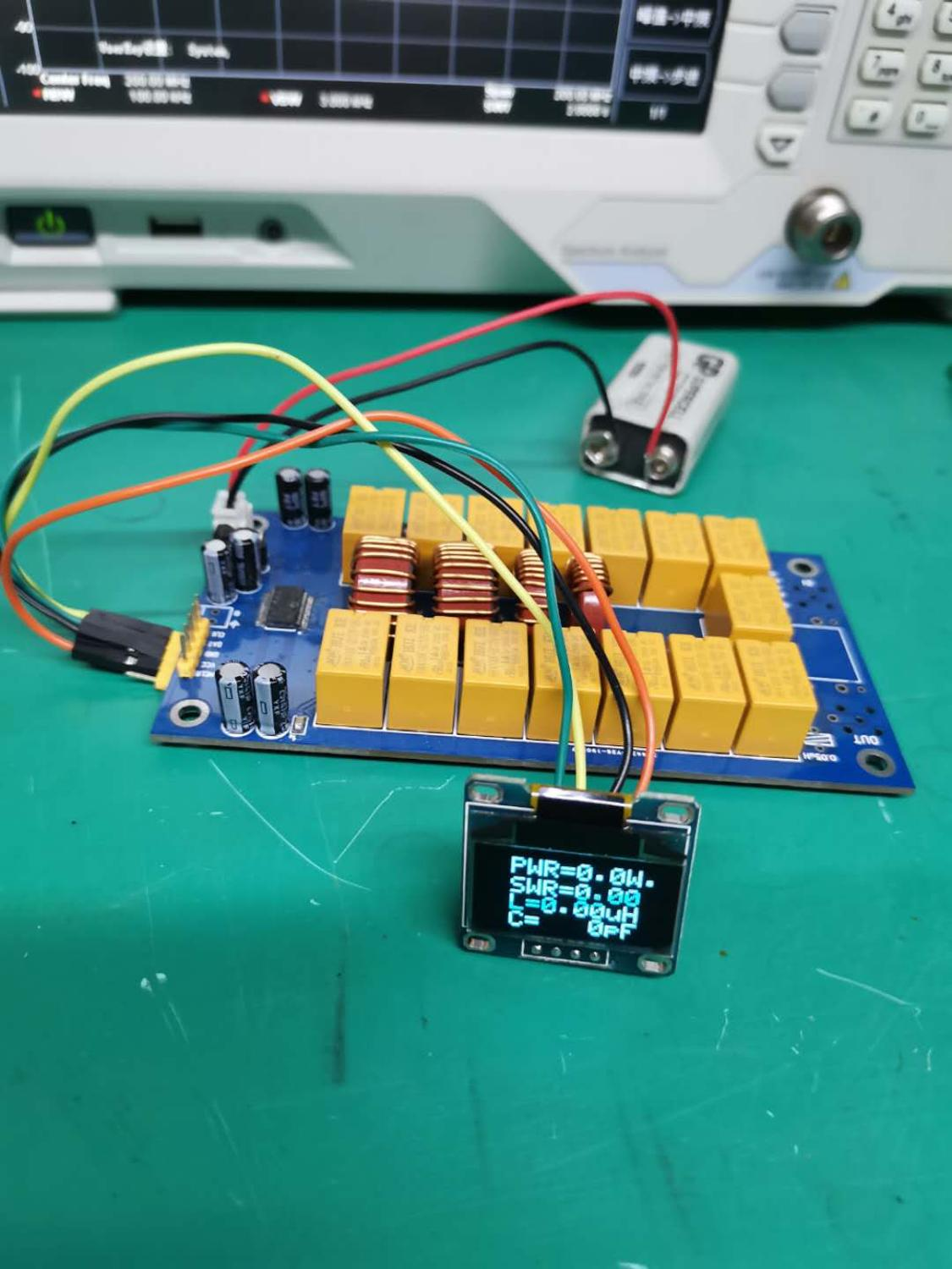 ATU-100 DIY Kits 1.8-50MHz ATU-100mini Automatic Antenna Tuner by N7DDC 7x7 + OLED, Firmware  programmed/ SMD/Chip soldered