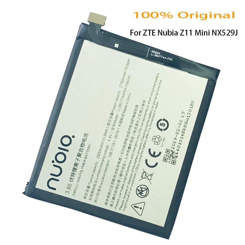 100% Original 3.85V 2830mAh Li3827T44P6h726040 For ZTE Nubia Z11Mini NX529J Battery