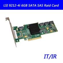 9212-4i 6GB SATA SAS IT/IR mode carte dextension PCI-E carte HBA pour LSI