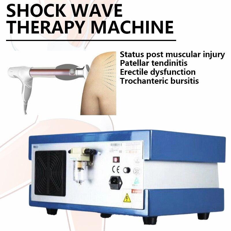 معدات العلاج الطبيعي صدمة موجة آلة العلاج ل إد ضعف الانتصاب الصوتية شعاعي صدمة الألم البدني تخفيف