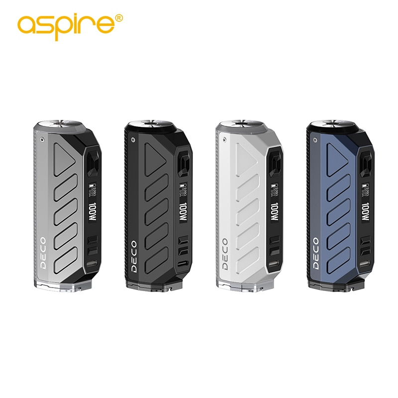 Original Aspire Deco Mod 80W Compatible with Single 21700 and 18650 Battery (not included) Box Vape