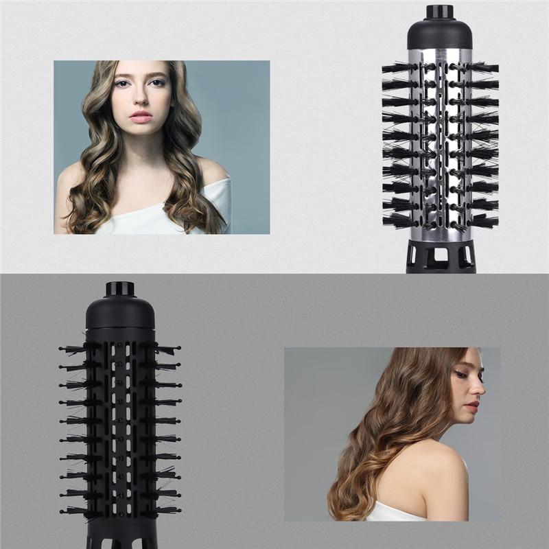 Automatische Haardroger Roller Haar Krultang Elektrische Haar Krultang Auto Rotating Hot Air Borstel Voor Föhnen Golven Krullen enlarge
